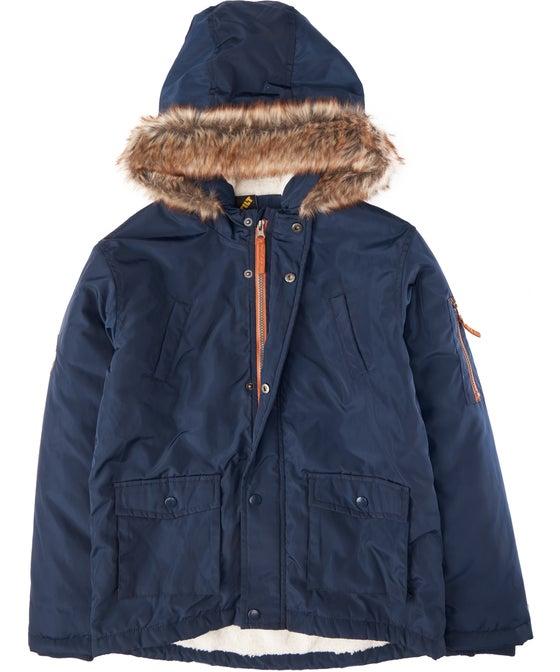 Kids' Fur Hood Parka