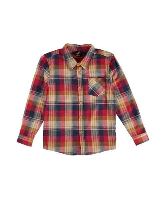Kids' Long Sleeve Check Shirt