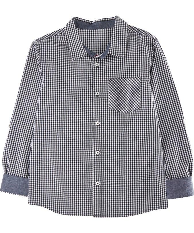 B L/S Mini Me Cotton Shirt