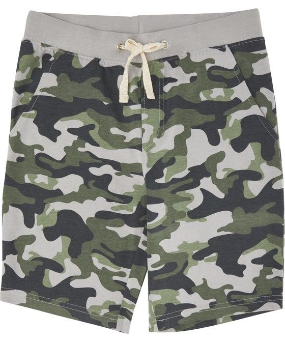 Kids' Printed Knit Shorts
