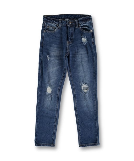 Kids' Ripped Denim Jean