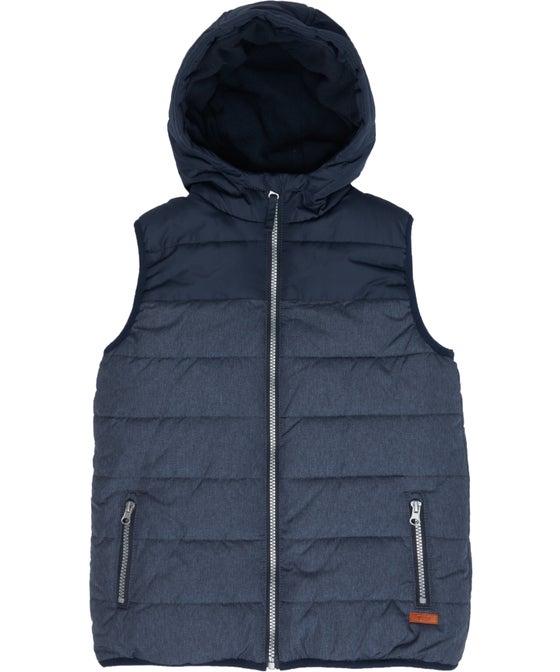 Kids' Textured Fleece Lined Puffer Vest