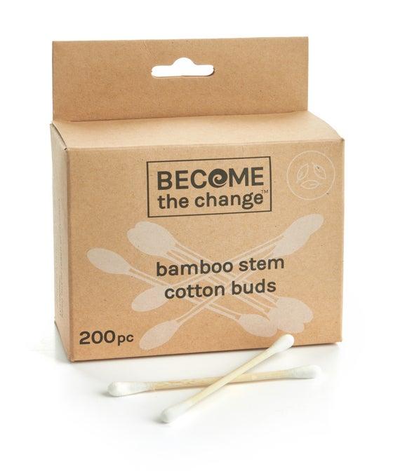 Bamboo Stem Cotton Buds 200