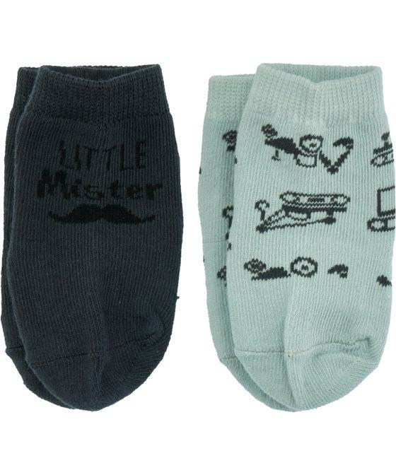 Babies' 2 Pack Socks