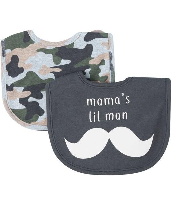 Babies' 2 Pack Fashion Bib