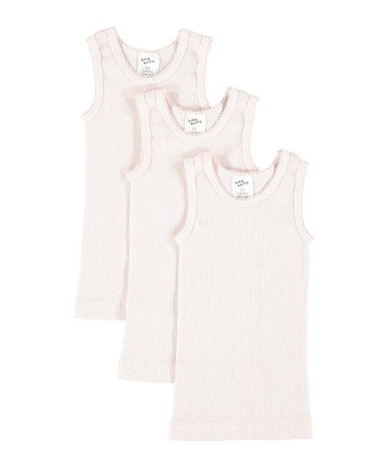 Babies' 3 pack Rib Singlets