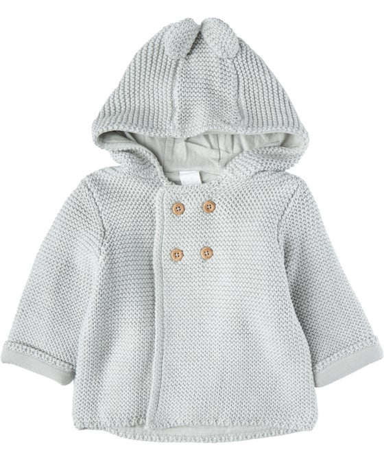 Babies Hooded Lined Cardigan