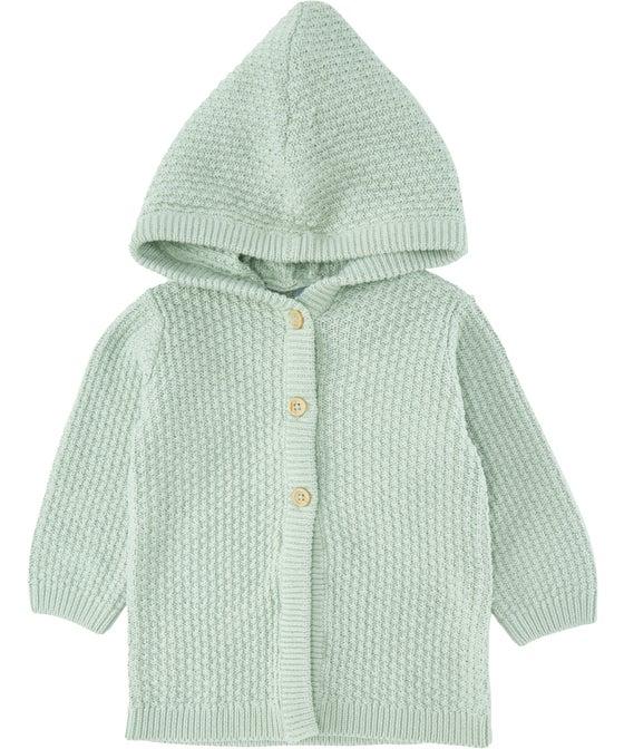 Babies' Hooded Cardigan