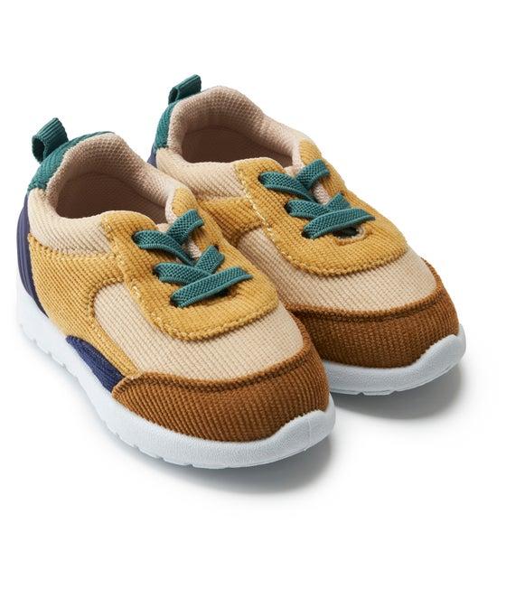 Babies' Cord Walker Shoe