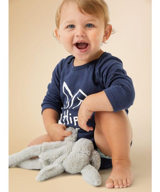 Babies' Long Sleeve Printed Bodysuit