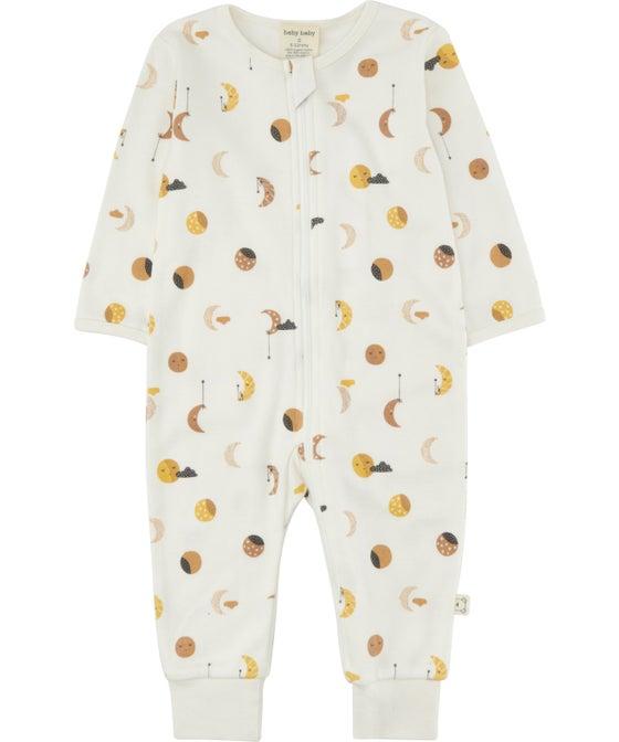Babies' Organic Cotton Growsuit