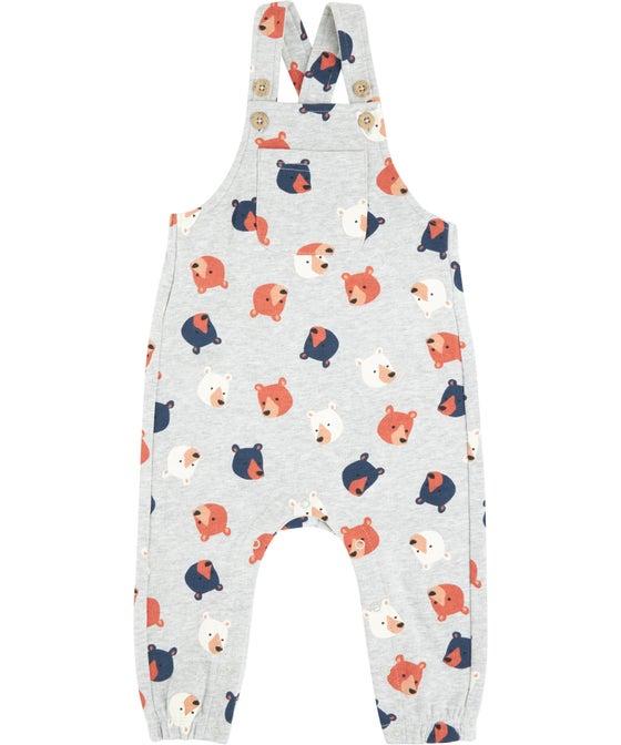 Babies' Printed Fleece Romper