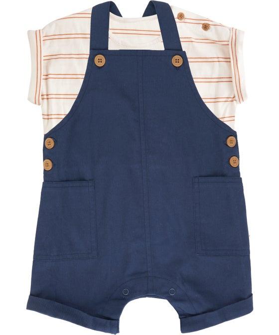 Babies' Overall & Tee Set