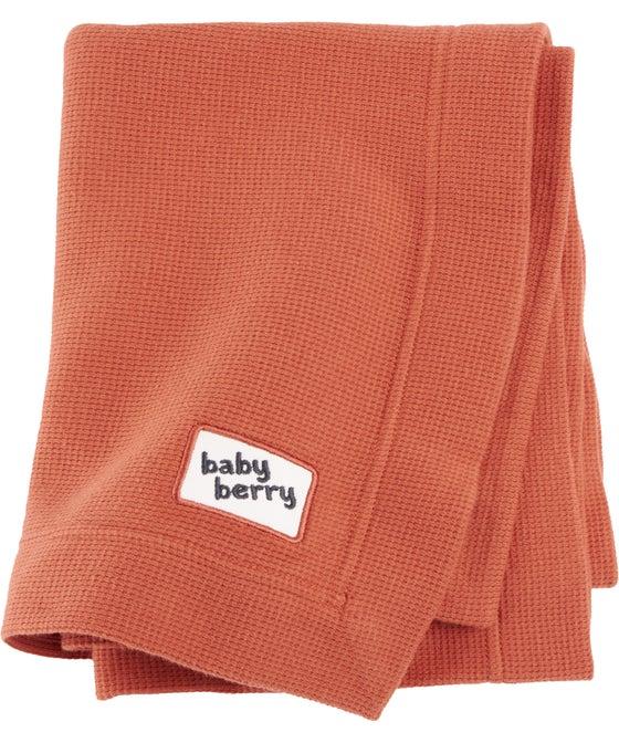 Babies' Cotton Waffle Blanket