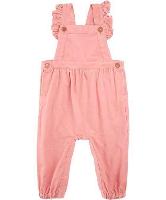 Babies' Cord Jumpsuit
