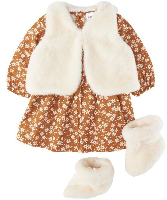 Babies' 3 Piece Dress Set