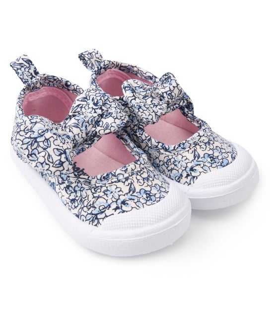 Babies' Floral Mary Jane Shoe