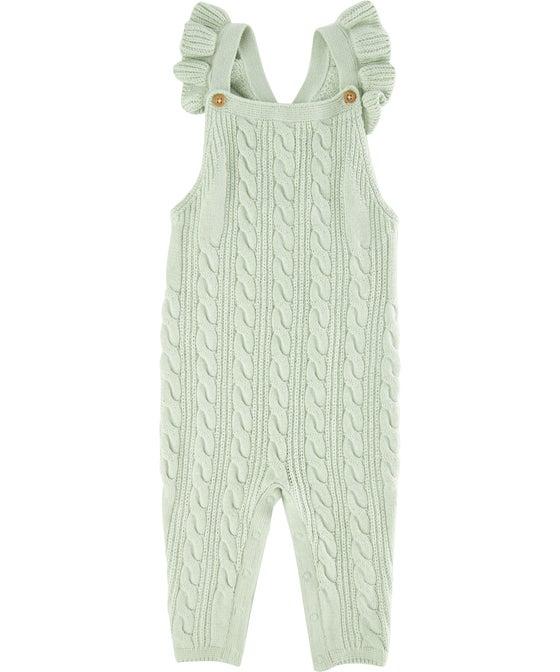 Babies' Knitwear Frill Romper