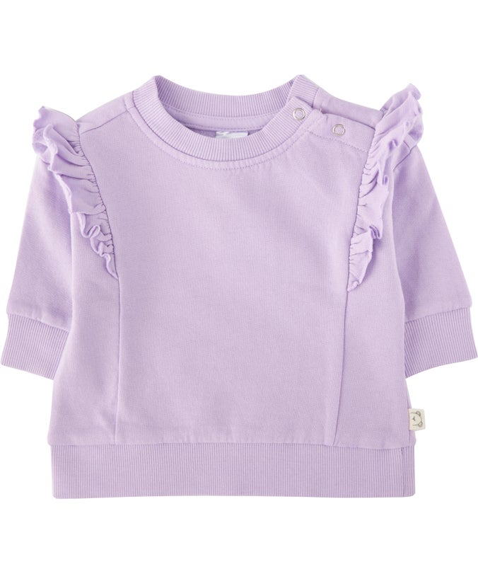 BB G Organic Cotton Frill Sweatshirt
