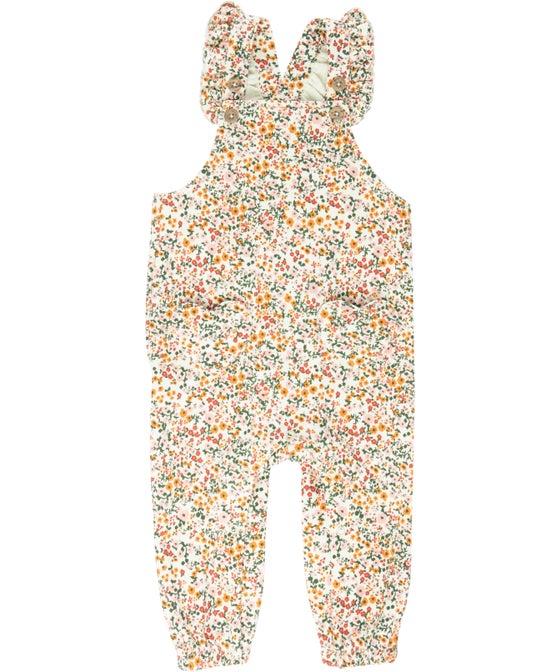 Babies' Printed Fleece Jumpsuit