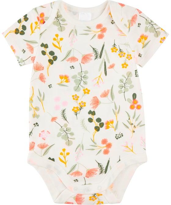 Babies' Short Sleeve Printed Bodysuit