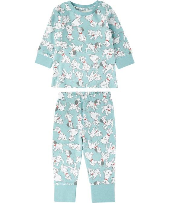 Babies' Licensed Dalmations Knit PJ Set