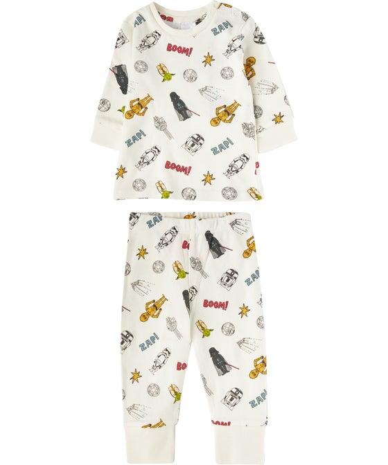 Babies' Licensed Star Wars Knit PJ Set