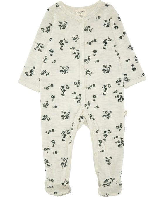 Babies' Merino Growsuit PREM - 24 months