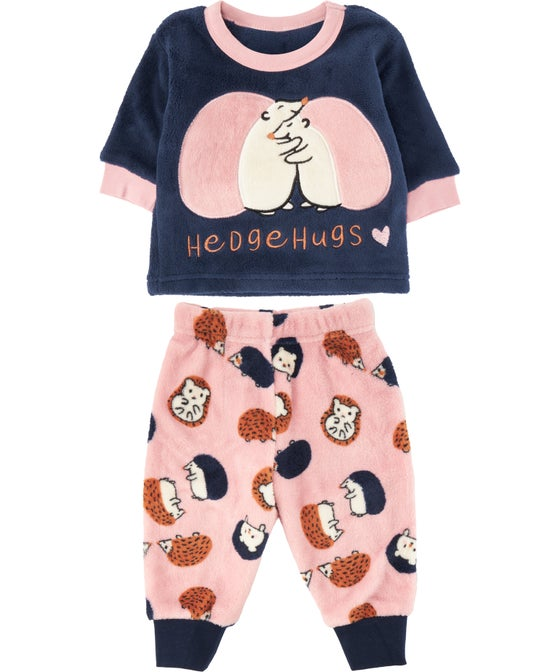 Babies' Mini Me Coral Fleece PJ