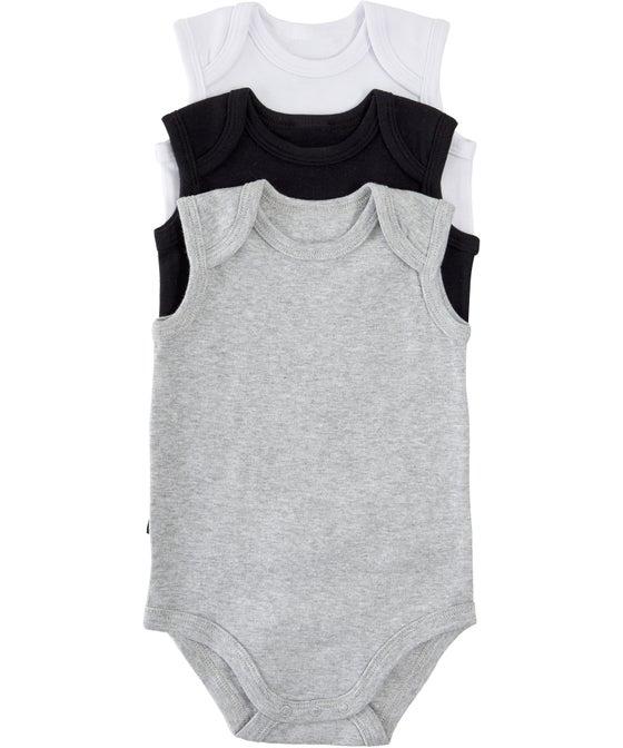 Babies' Sleeveless Bodysuit 3 Pack
