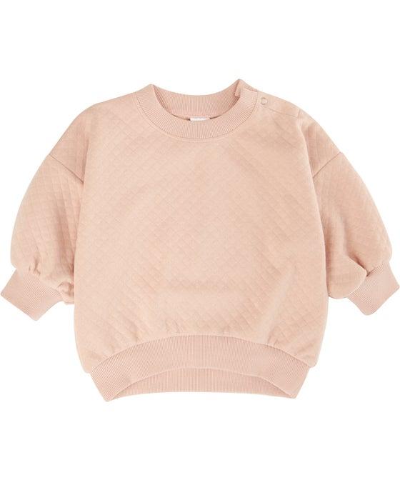 Babies' Quilted Sweatshirt
