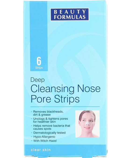 Beauty Formulas Cleaning Nose Strips (6)