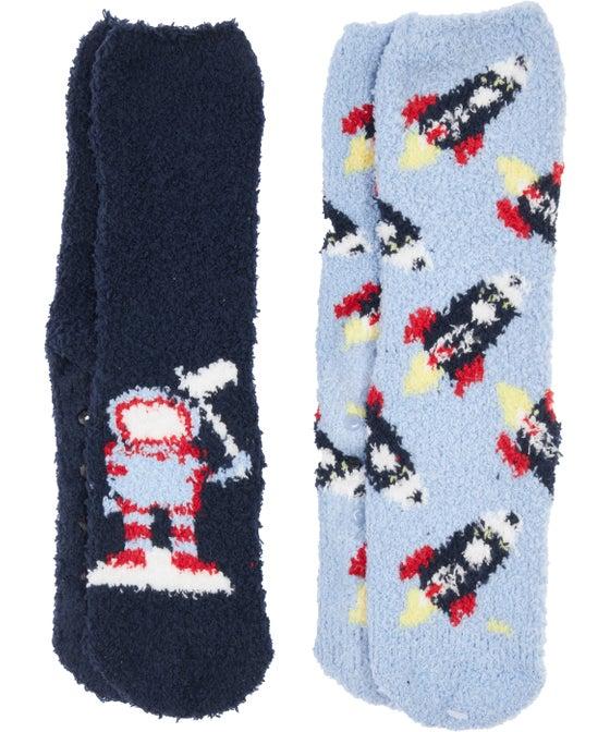 Boys' 2 Pack Marshmallow Sock