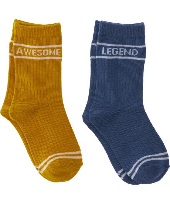 Boys' 2PK Crew Socks