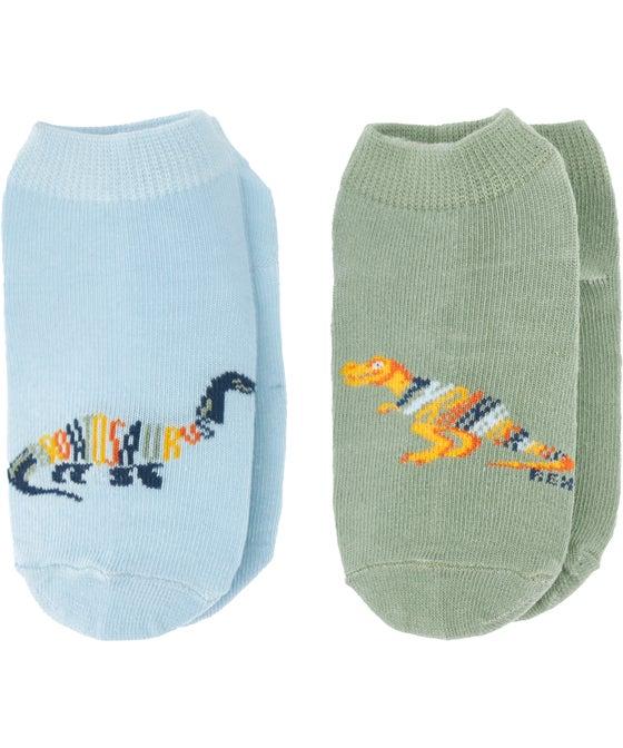 Boy's  2 Pack Low Cut Socks