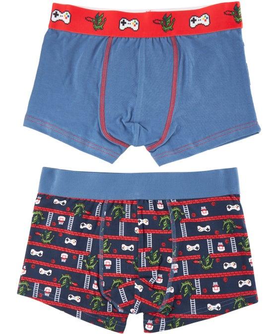 Boys Fashion Trunk 2 Pack