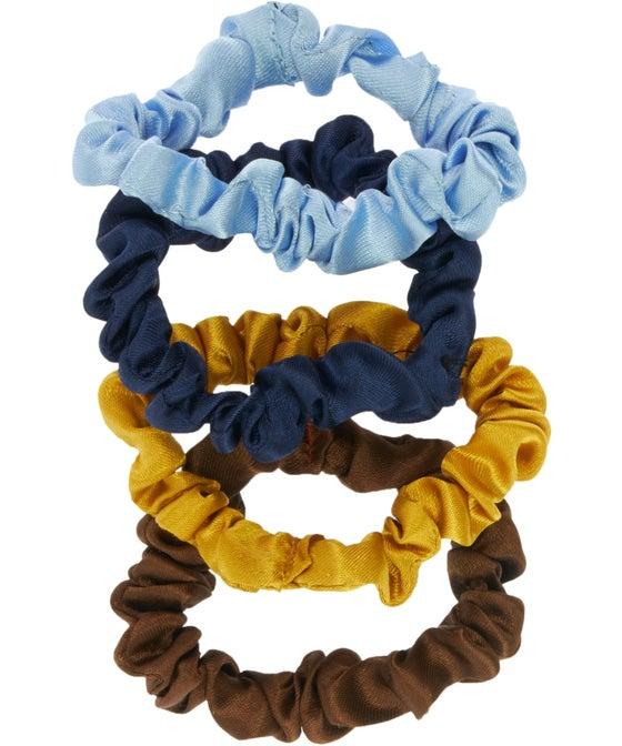 Edited 4 Piece Mini Scrunchies