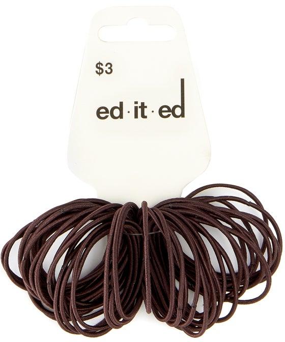 50 Pack Thin Hair Ties