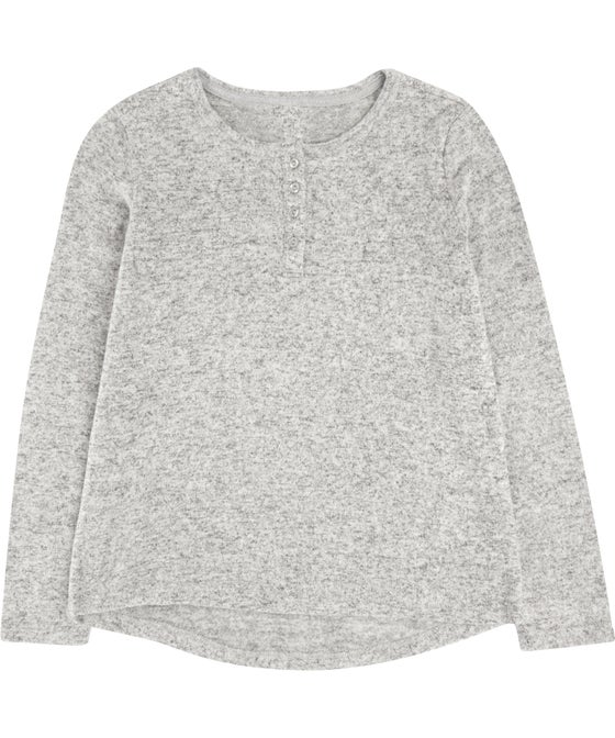 Kids' Supersoft Henley Lounge Top