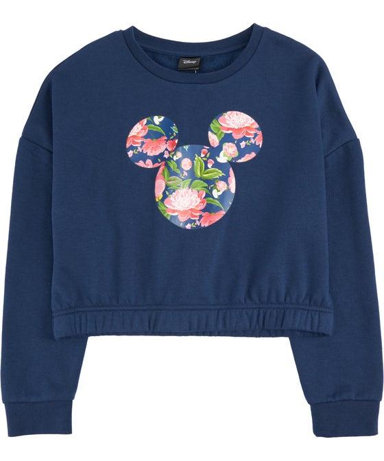 Kids' Licensed Floral Mickey Sweatshirt