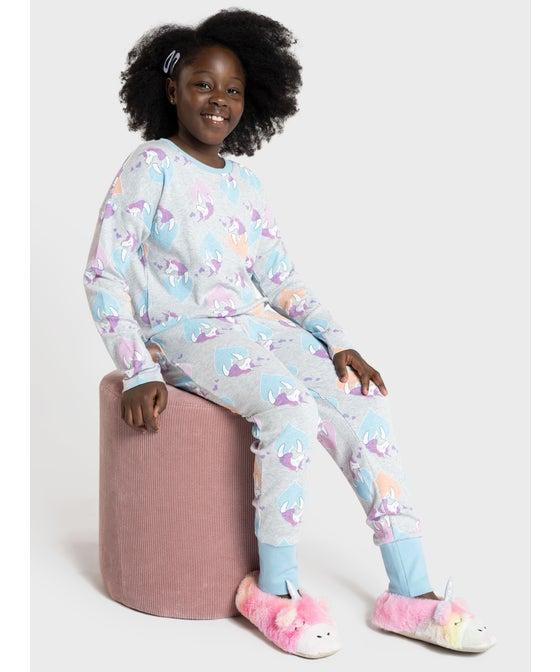 Kids' All Over Print Knit PJ