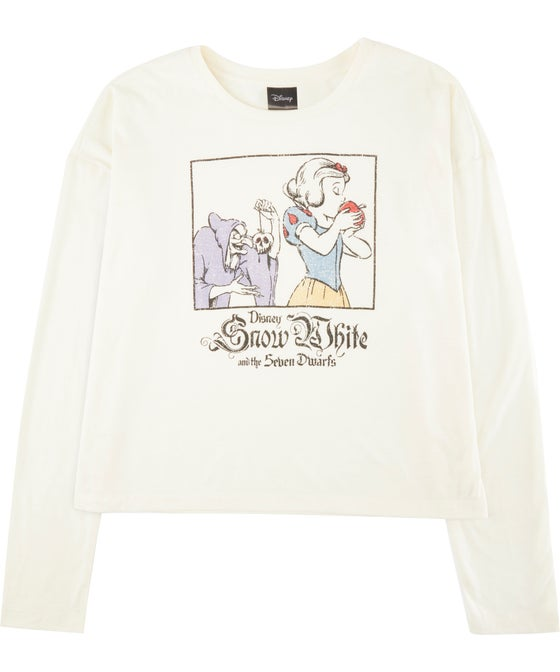 Kids' Long Sleeve Licensed Snow White Tee
