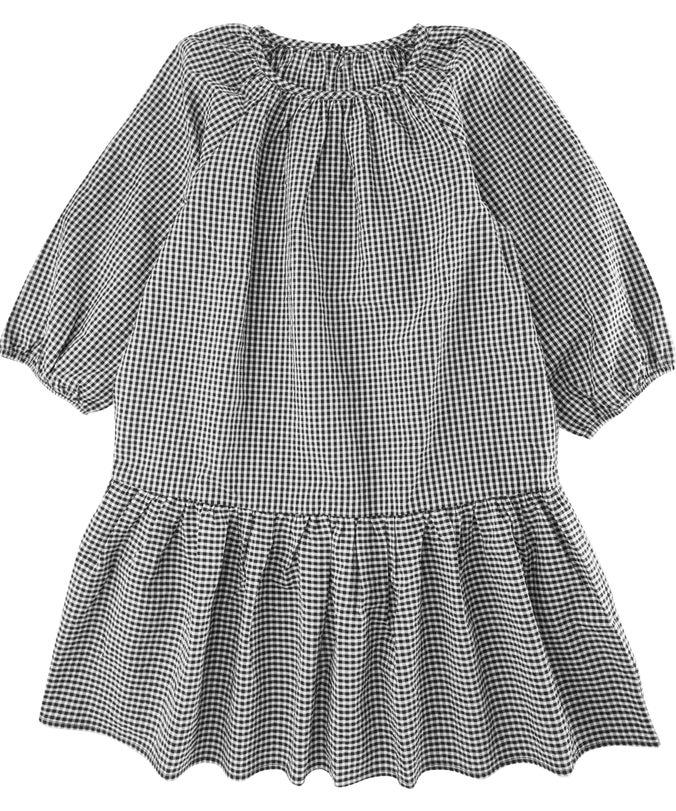 G Mini Me Drop Hem Woven Dress