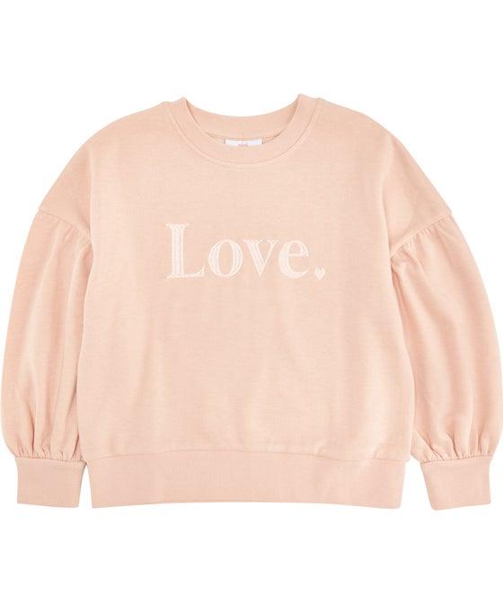 Kids' Mini Me Love Sweatshirt