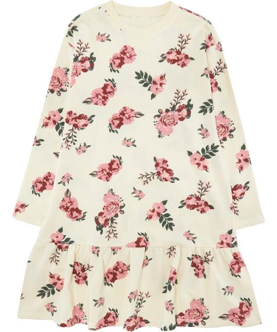 Kids' Mini Me Long Sleeve Fleece Dress