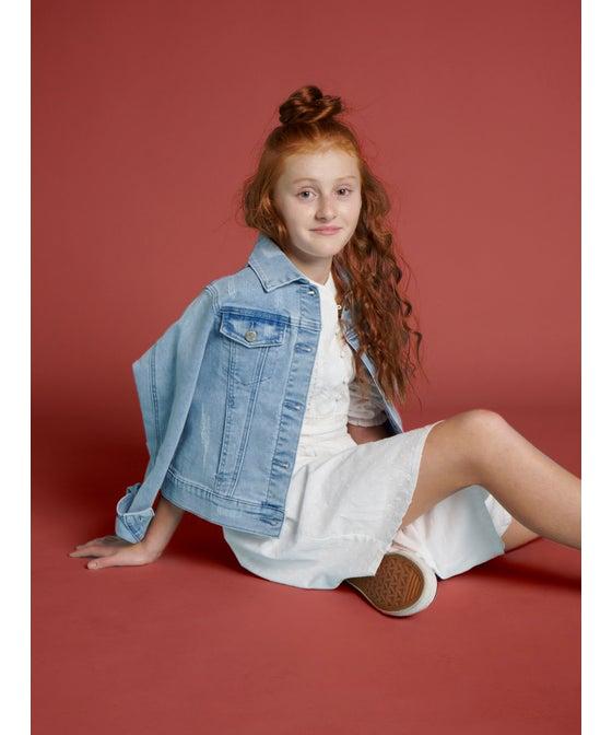 Kids' Miss Mango Oversized Denim Jacket