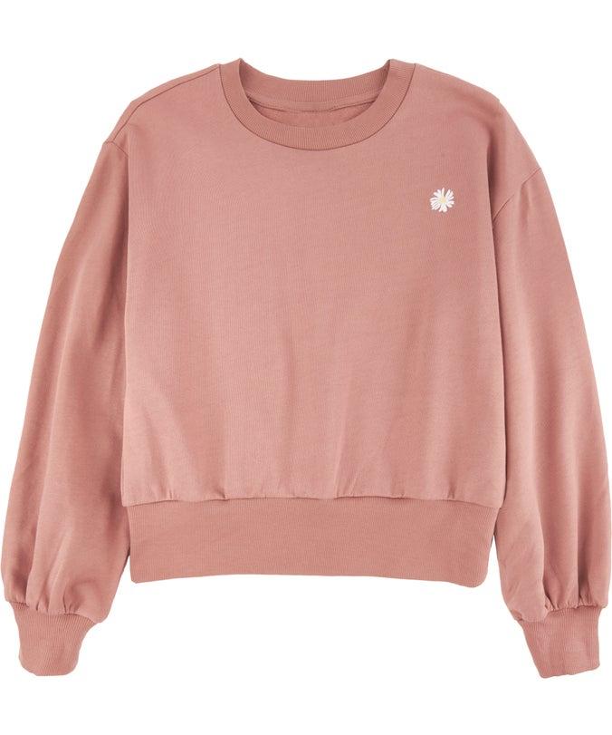 G Organic Cotton Puff Slv Sweatshirt