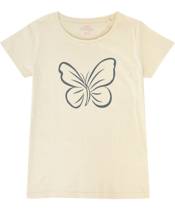 Kids' Print Front Cotton T-shirt