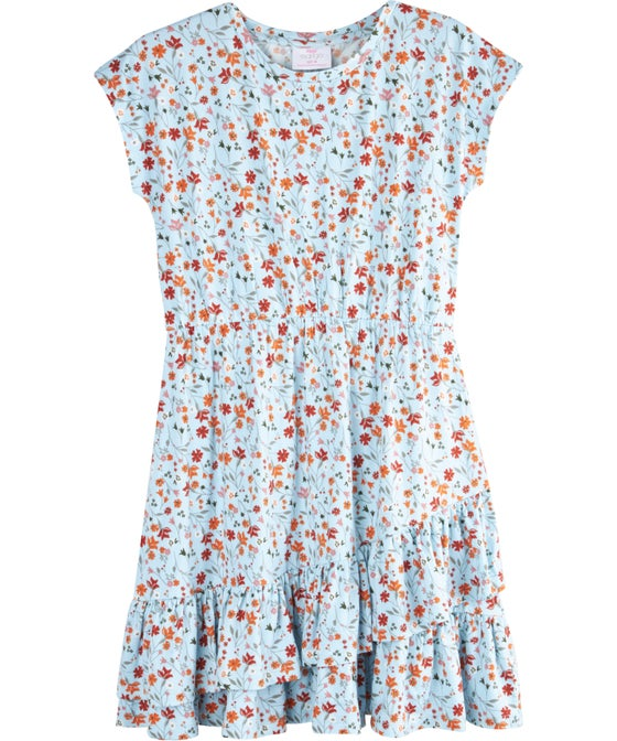 Kids' Ruffle Wrap Dress