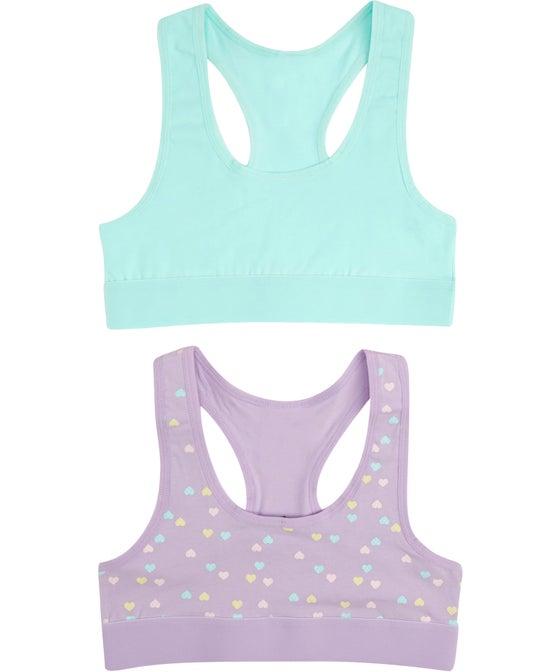 Girls' 2 Pack Fashion Crop